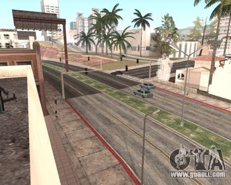 Texture Los Santos from GTA 5 for GTA San Andreas eleventh screenshot