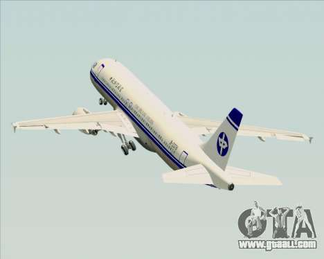 Airbus A320-200 CNAC-Zhejiang Airlines for GTA San Andreas