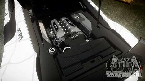 Audi R8 LMX 2015 [EPM] Sticker Bomb for GTA 4 side view