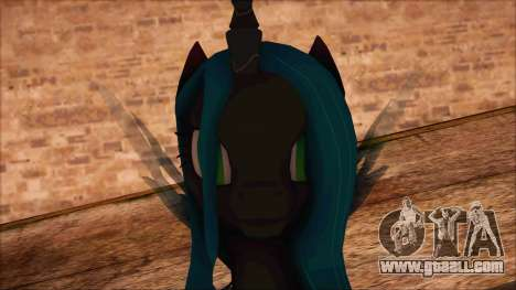 Chrysalis from My Little Pony for GTA San Andreas third screenshot