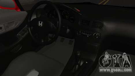 Honda CRX for GTA San Andreas right view