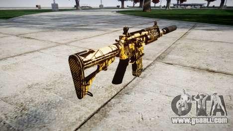 Machine P416 silencer PJ4 for GTA 4 second screenshot