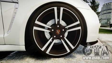 Porsche Panamera GTS 2014 for GTA 4 back view