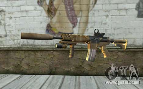 M4A1 Sopmod for GTA San Andreas