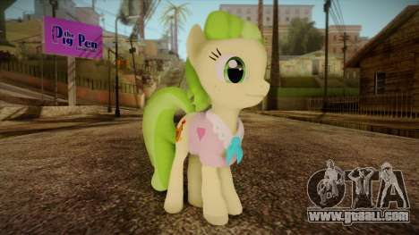 Peachbottom from My Little Pony for GTA San Andreas