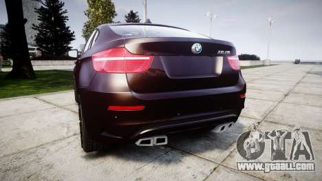 BMW X6M rims2 for GTA 4 back left view