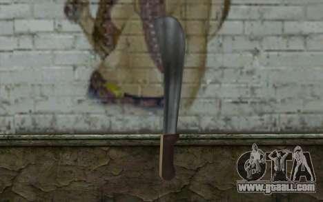 Machete (GTA Vice City) for GTA San Andreas second screenshot