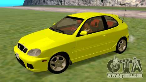 Daewoo Lanos Sport US 2001 for GTA San Andreas