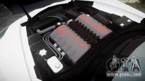 Chevrolet Corvette Z06 2015 TireCon for GTA 4 side view