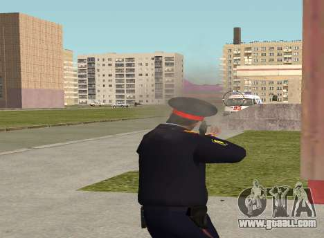 Sergeant police for GTA San Andreas fifth screenshot