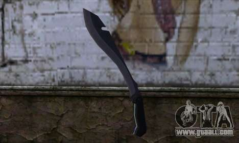 Machete from Far Cry for GTA San Andreas