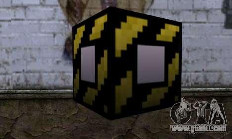 Block (Minecraft) v4 for GTA San Andreas second screenshot