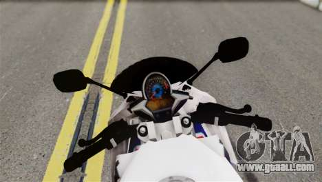 Honda CBR150FI for GTA San Andreas back left view