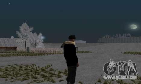 Winter jacket for GTA San Andreas second screenshot