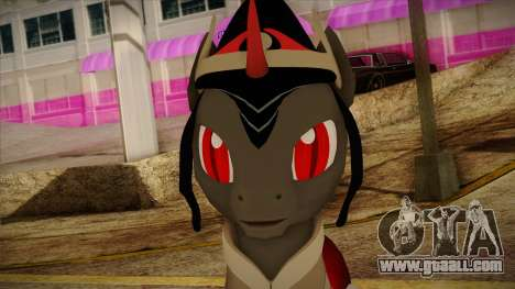King Sombra from My Little Pony for GTA San Andreas third screenshot