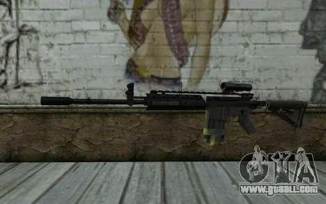 M4A1 from COD Modern Warfare 3 for GTA San Andreas
