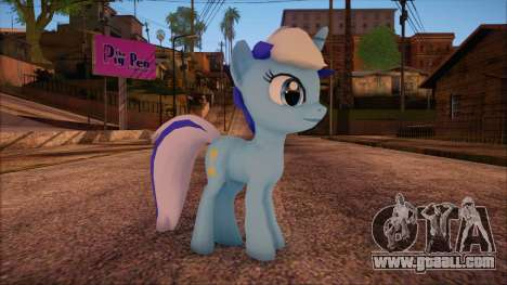 Colgate from My Little Pony for GTA San Andreas
