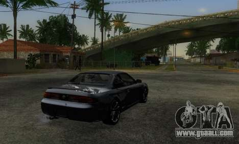 Nissan Silvia S14 Zenki Drift for GTA San Andreas left view