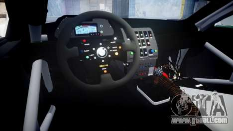 BMW M3 E46 GTR Most Wanted plate NFS Carbon for GTA 4 inner view