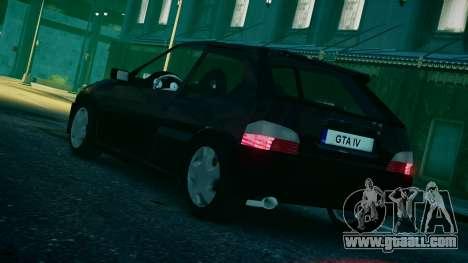 Citroen Saxo for GTA 4 left view