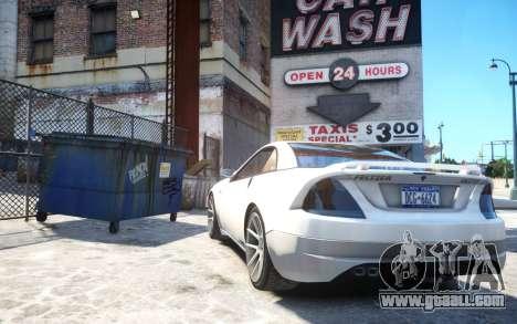 Benefactor Feltzer Grey Series v3 for GTA 4 back left view
