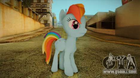 Rainbow Dash from My Little Pony for GTA San Andreas