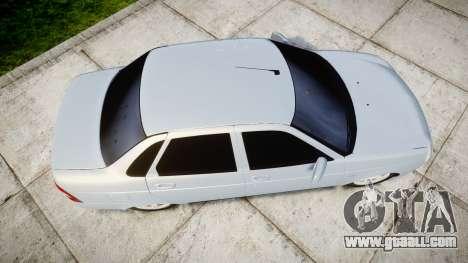 ВАЗ-Lada 2170 Priora light Bulb for GTA 4 right view