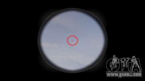 Gun MP5SD EOTHS CS b target for GTA 4 third screenshot