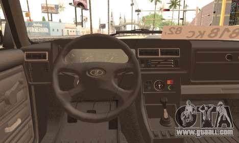 VAZ 2105 for GTA San Andreas back left view