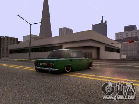 VAZ 2101 for GTA San Andreas back view