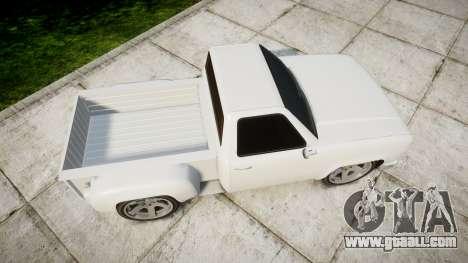 Vapid Bobcat Badass for GTA 4 right view