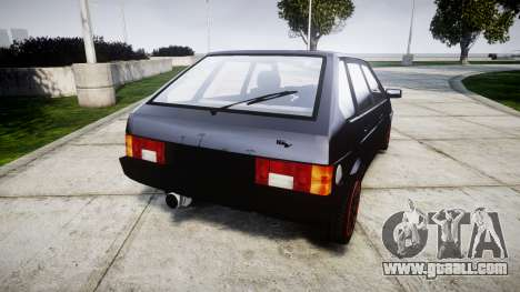 VAZ-2109 alloy for GTA 4 back left view