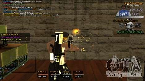C- HUD A.C.A.B for GTA San Andreas third screenshot