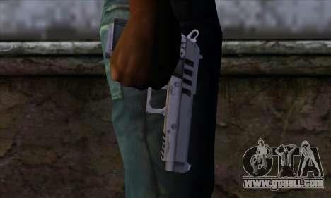 Pistol from GTA 5 for GTA San Andreas third screenshot