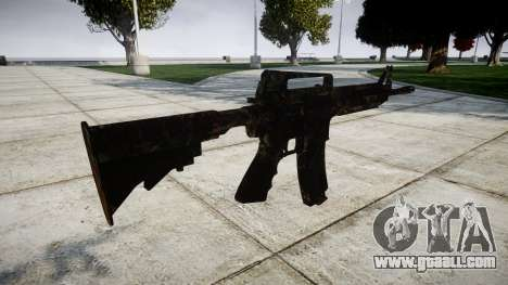 The M4 carbine CQB for GTA 4 second screenshot
