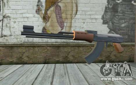 AK-47 Without the Butt for GTA San Andreas