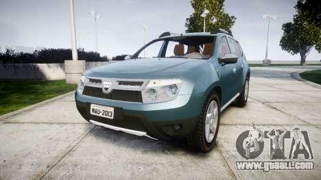 Dacia Duster 2013 for GTA 4