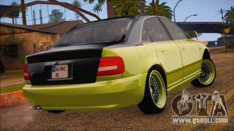 Audi S4 Fatlace for GTA San Andreas left view
