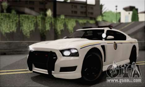 Bravado Buffalo S Police Edition (IVF) for GTA San Andreas inner view