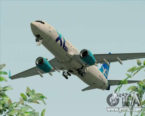 Boeing 737-800 XL Airways for GTA San Andreas engine