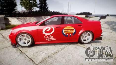 Albany Presidente Racer [retexture] eCola for GTA 4 left view