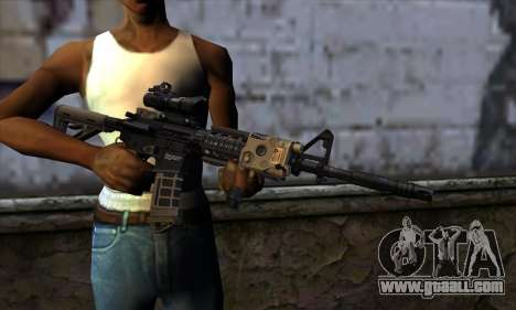 AR15 bushmaster for GTA San Andreas third screenshot