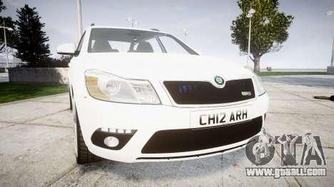 Skoda Octavia vRS Combi Unmarked Police [ELS] for GTA 4