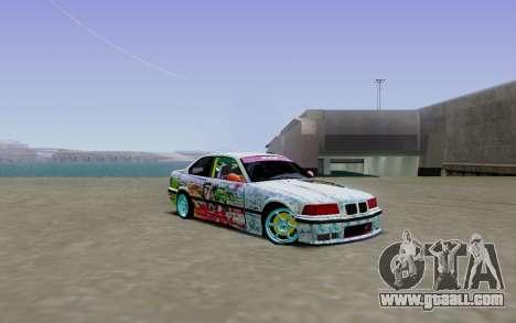BMW E36 Bridgstone for GTA San Andreas