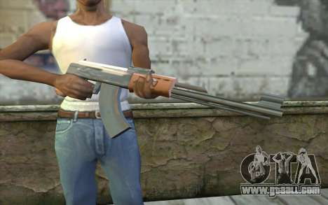AK-47 Without the Butt for GTA San Andreas third screenshot