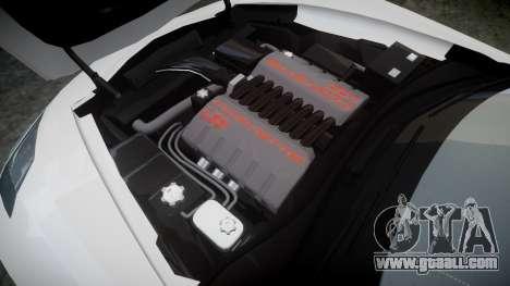 Chevrolet Corvette C7 Stingray 2014 v2.0 TireBFG for GTA 4 side view