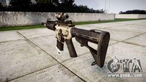 Machine P416 ACOG PJ1 target for GTA 4 second screenshot