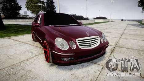 Mercedes-Benz W211 E55 AMG for GTA 4