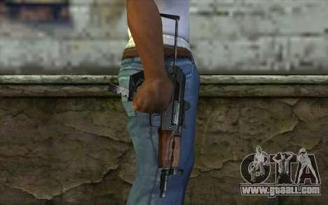 Gun Cheetah for GTA San Andreas third screenshot