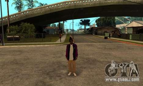 The Ballas Skin Pack for GTA San Andreas fifth screenshot